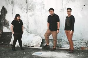 Pictured left to right: Alicia Tan, Fin Guo, Steven Koswara