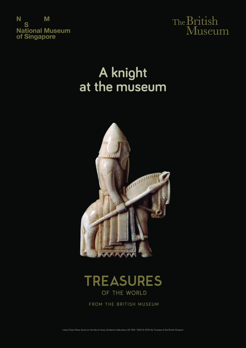 A knight at the museum